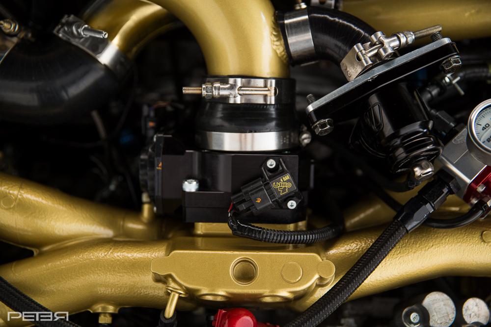 boomba throttle body Custom powder coated subaru sti hta86 aeromotive process west